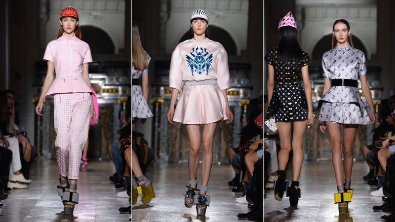 John Galliano: For the Sci-Fi Cartoon Princess in You