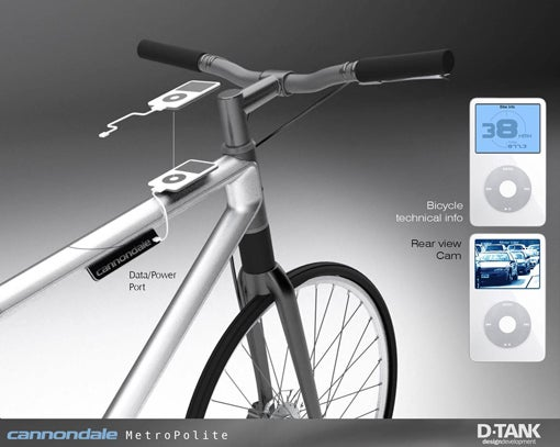 Cannondale Bicycles May Get iPod Dock Upgrade + Stat Tracking