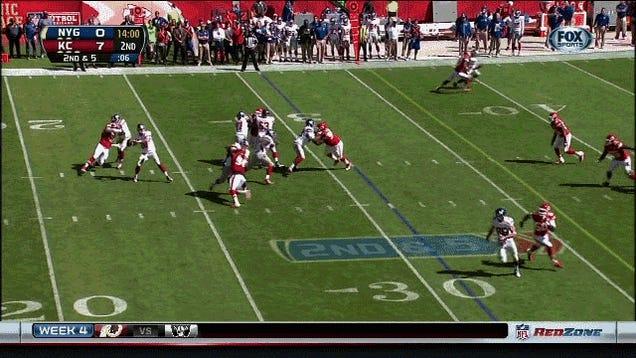 Victor Cruz Burns His Man Easily For A Touchdown