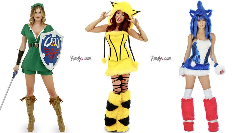 "Nothing Says Halloween Like ""Sexy"" Video Game Costumes"