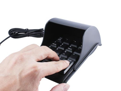 The Private Numeric Keypad
