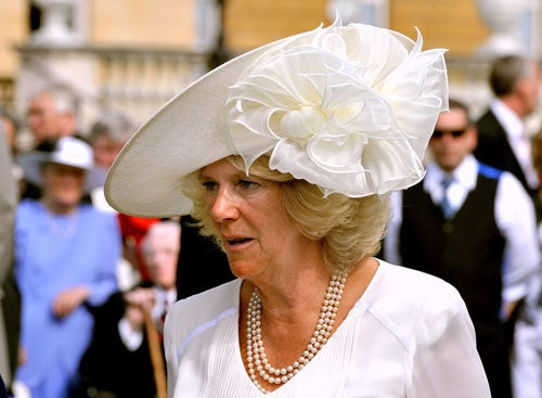 Camilla Wears An Enormous Hat, Because That's What She Does