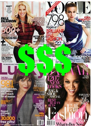 Charity Cases: How Much Expensive Shit Is In The September Ladymags?