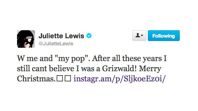 Juliette Lewis and Chevy Chase Come Together for a Griswold Family Reunion
