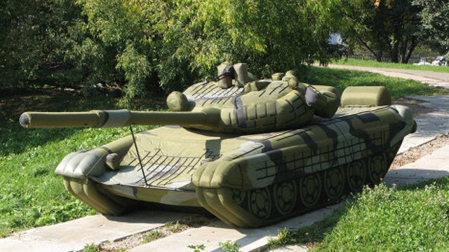 Kim Dotcom Just Had a Huge Inflatable Tank Delivered To His House