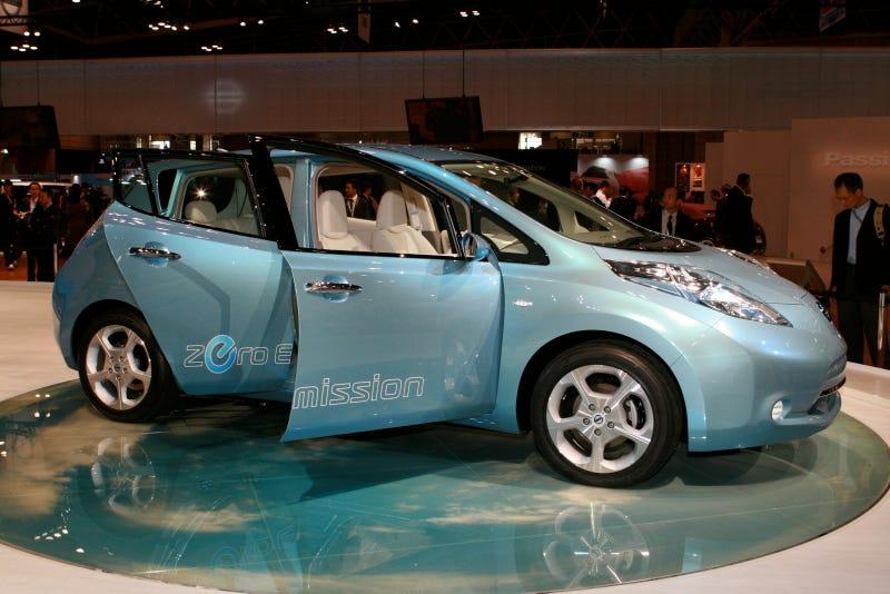 Nissan Leaf EV Electric Car