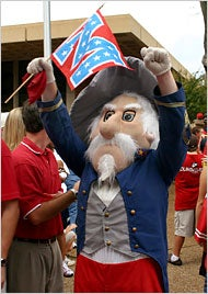 Racist Mascot Discriminated Against