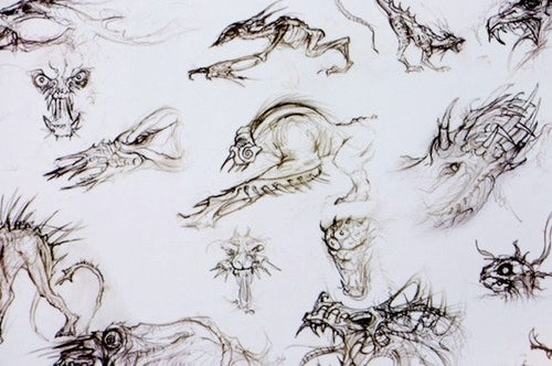 Predator's Concept Art