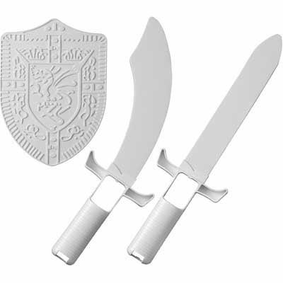 Wii Zelda Shield and Sword Accessory