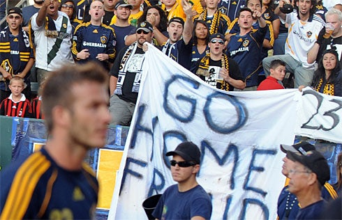 Fan Who Charged Beckham Feels Wrath Of Home Depot