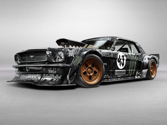 Ken Block's Gymkhana 7 Car Is A Monstrous 845 HP AWD 1965 Ford Mustang
