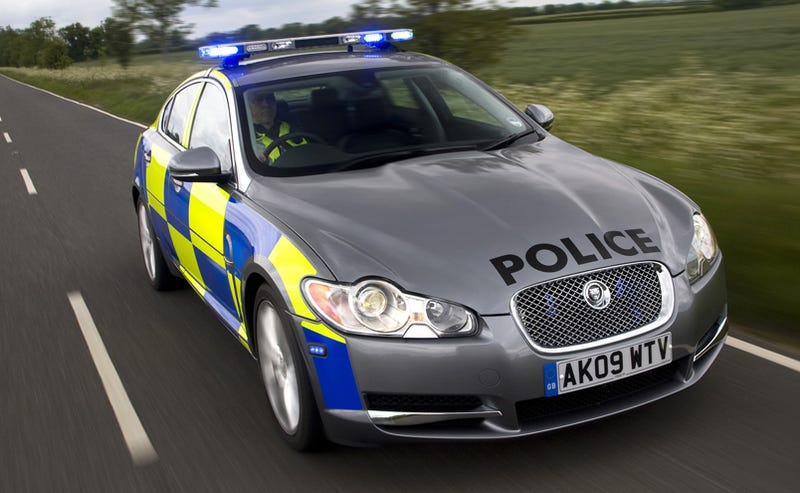 Jaguar XF Diesel S Pursuit Special Will Only Encourage Chases