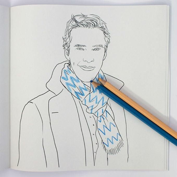 Ryan Gosling, Benedict Cumberbatch Coloring Books Are Must-Haves