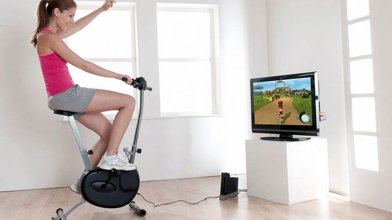 This Wii Cycling Peripheral Costs More Than the Console