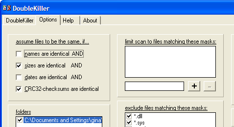 Find and remove duplicate files with DoubleKiller