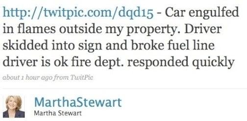 Martha Stewart's Twitter Is a Catalog of Death and Mayhem
