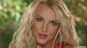Britney Spears Flirts With Smurfs, Her Sons in Her New Video