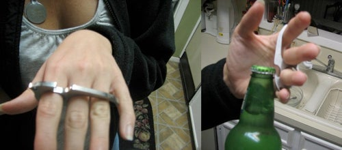 Bottle Opener Ring Goes From Handy to Handcuffed All In One Night