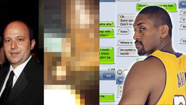 Ron Artest's Strange Sexting Saga