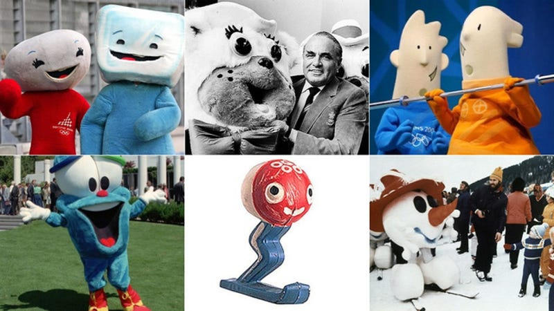Why Olympic Mascots Are Always So Goddamn Creepy