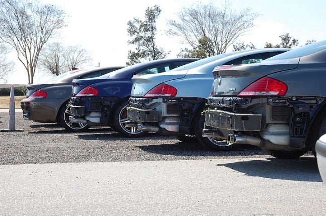 Then They Came For The BMW M6 Bumpers...