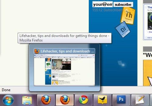 Windows 7 Taskbar Thumbnail Customizer Tweaks, Enlarges Your Superbar Thumbnails