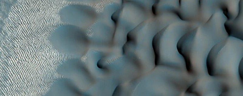 Dunes Let Us Study One Of The Universe's Fastest Geologic Processes