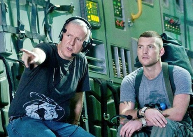 James Cameron and Sam Worthington team up for a new big budget, scifi blockbuster