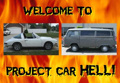 Project Car Hell: VW Bus With 911 Engine or 911 With VW Bus Engine?