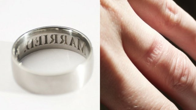 Company Sells 'Anti-Cheating Ring' that Imprints Wearer's Finger with Marriage Reminder