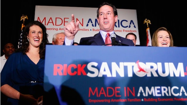 Rick Santorum's Three Primary Wins Last Night: Hilarious or Terrifying?
