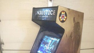 Homemade <em>Injustice: Gods Among Us</em> Arcade Cabinet
