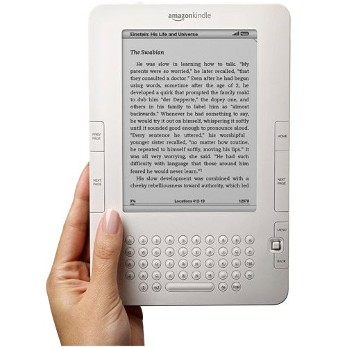 Kindle 2.5 Update Details: Kindle Gets Facebook After Your Grandparents Did