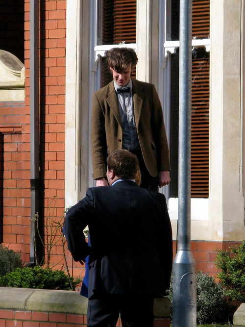 Doctor Who Filming 3/4 and 3/6