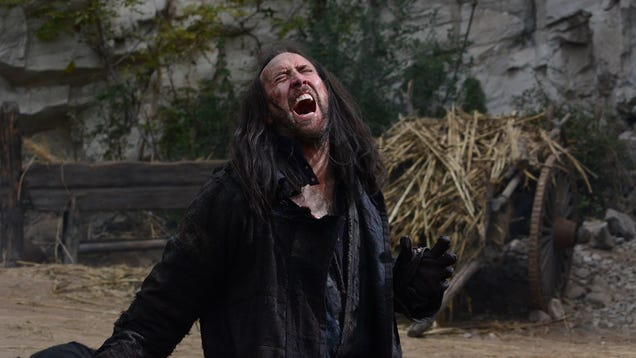 Outcast Seriously Looks Like The Ultimate Nic Cage Movie
