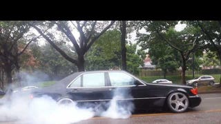 Burning Rubber In The Mercedes S666
