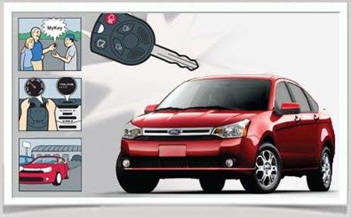 """Ford """"Nanny Key"""" For Teen Drivers Limits Vehicle Speed, Radio Volume"""