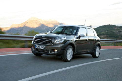 Mini Cooper Countryman: Press Photos