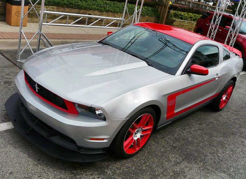 First Mustang Boss 302 Live Photos From Woodward Dream Cruise