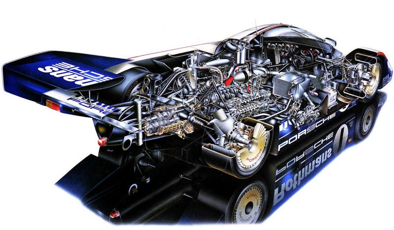 Porsche 956/962: Three Warped Minutes In Derek Bell's Mach .3 Office