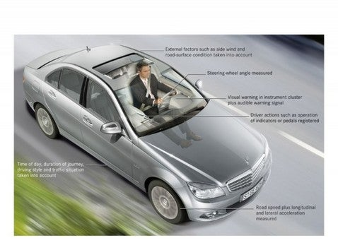 "Mercedes-Benz System Warns Driver: ""Dieter, You Are Sleepy... And Sorrowful"""