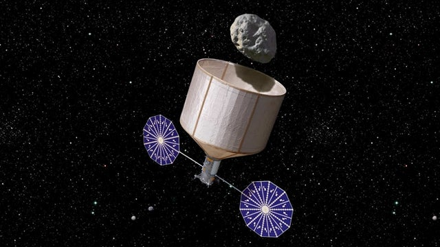 NASA considers plan to capture an asteroid and turn it into a space station