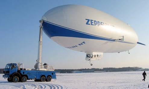 Zeppelins Return to US, Slightly Less Flammable Now
