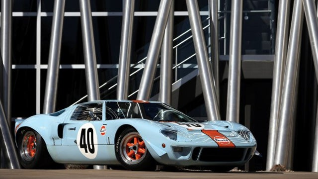 "Ford GT-40 Used To Film ""Le Mans"" Heads To Auction"