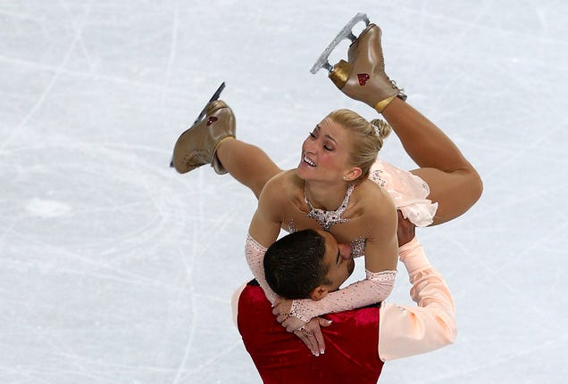 Are any of the olympic pair skaters dating
