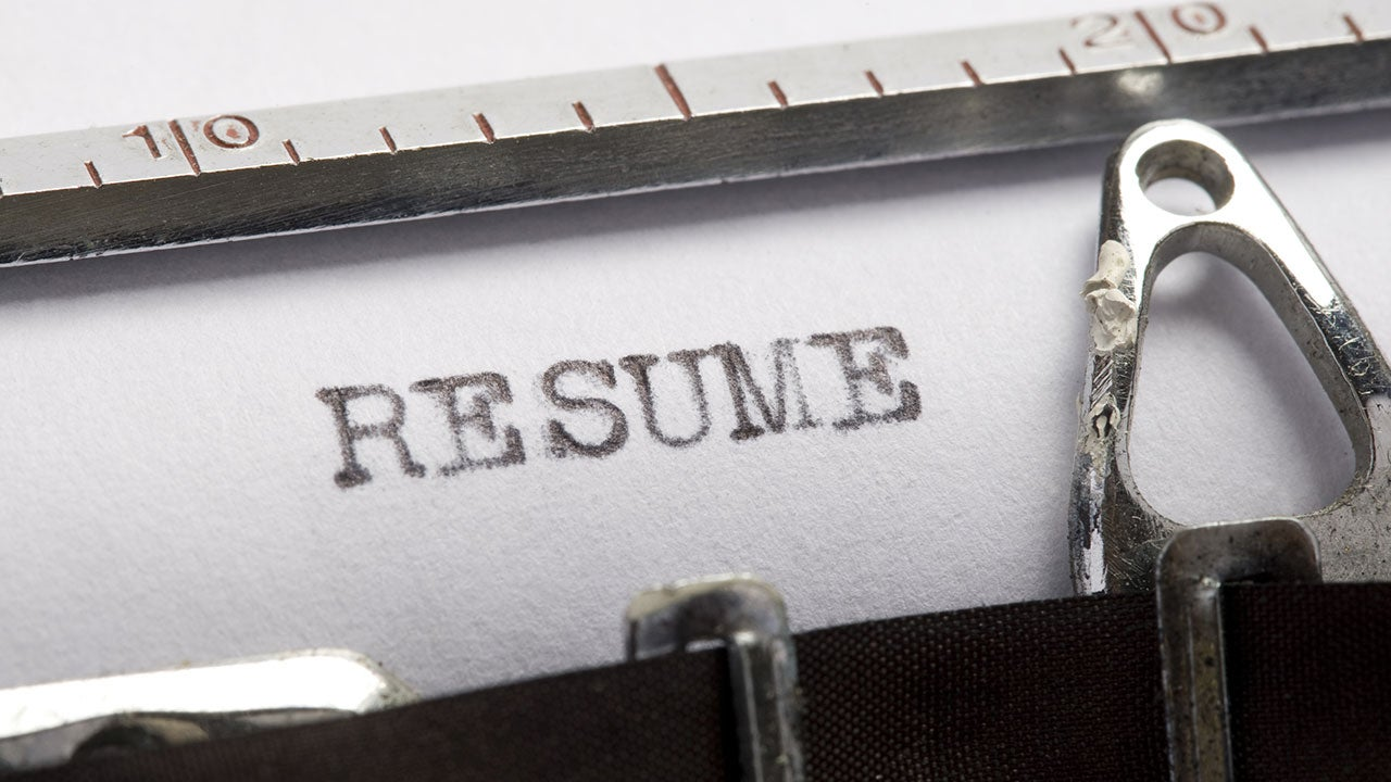 experience on resume