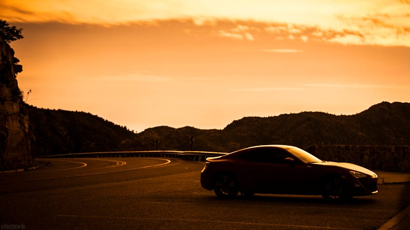 Sunset On A Scion FR-S