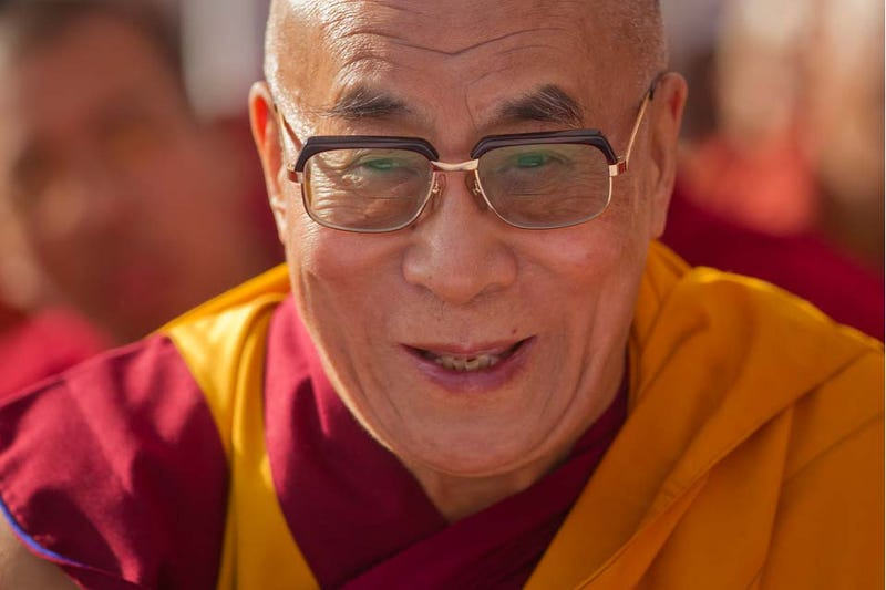 Even The Dalai Lama Isn't Immune to Your Feminine Wiles