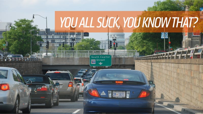 You Can Probably Guess Which City Has The Worst Drivers In America