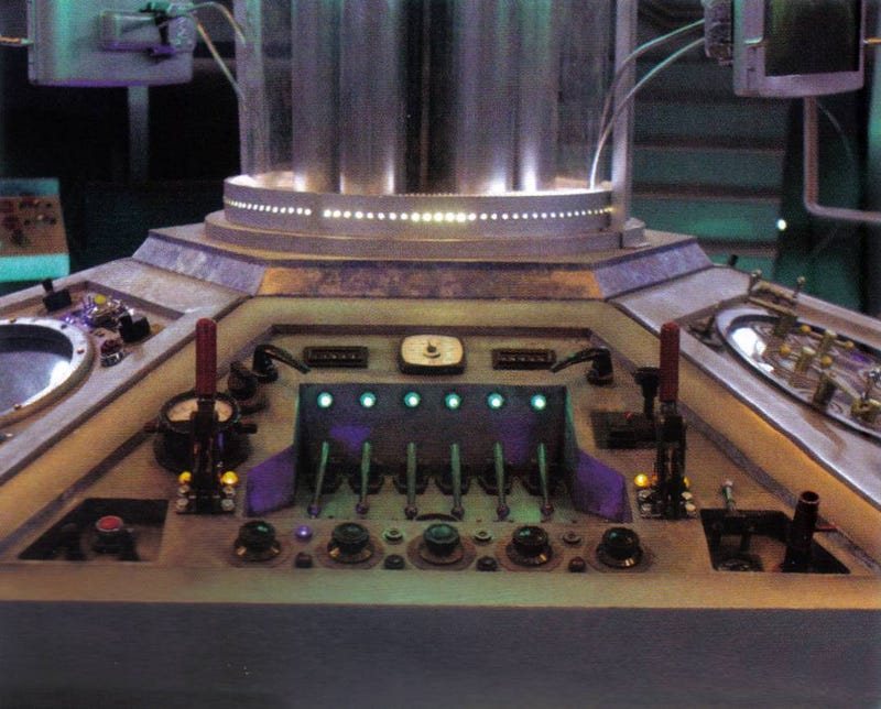 Get a close-up view of Doctor Who's brand new TARDIS control panels!